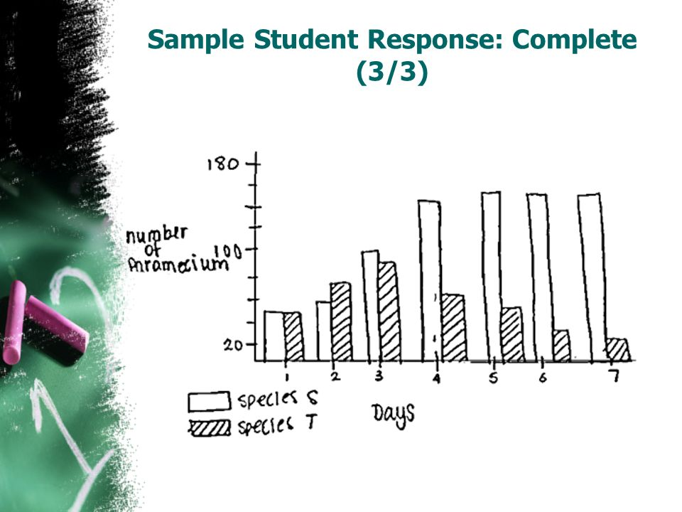 Sample Student Response: Complete (3/3)