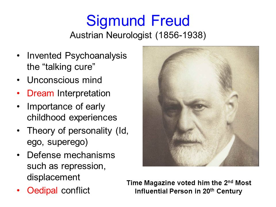 Sigmund Freud and the oedipal complex
