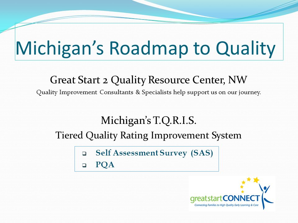 Michigan's Roadmap to Quality