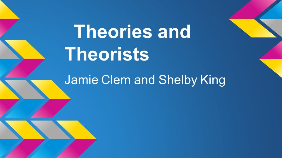 theories and theorists The hong kong review of books has launched a new series of interviews with some of the world's best critical theorists.