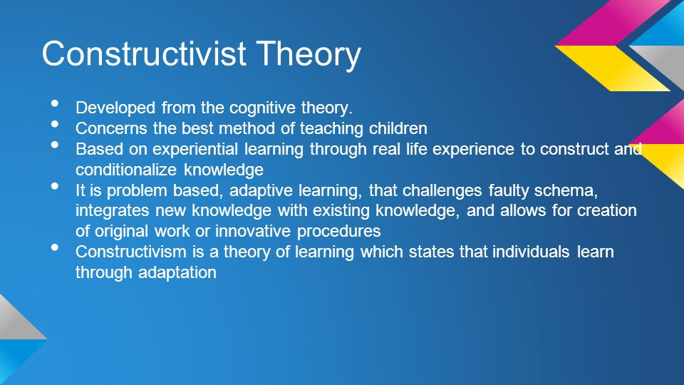 The Pros and Cons of Constructivist Learning Theory