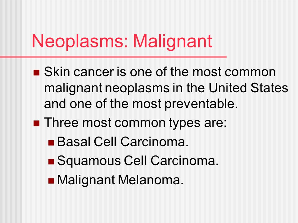 skin cancer as the most commonly diagnosed cancer in the united states Skin cancer is the most  squamous-cell skin carcinoma: commonly  more than 35 million cases of skin cancer are diagnosed annually in the united states,.