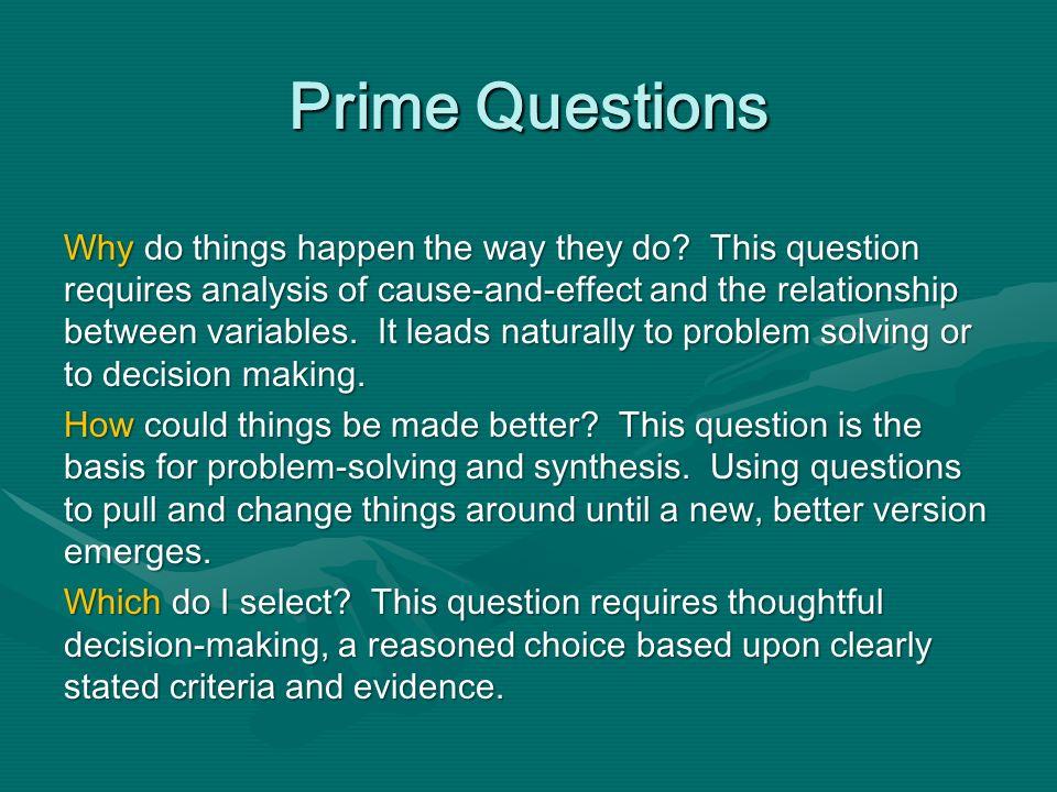 Prime Questions