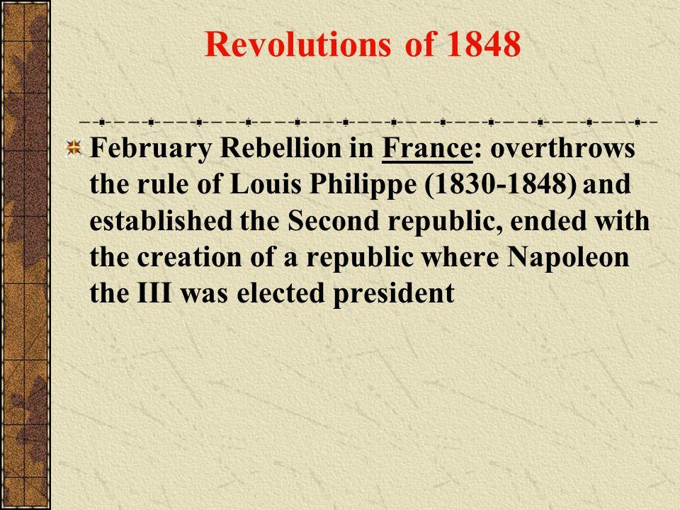 Revolutions of 1848