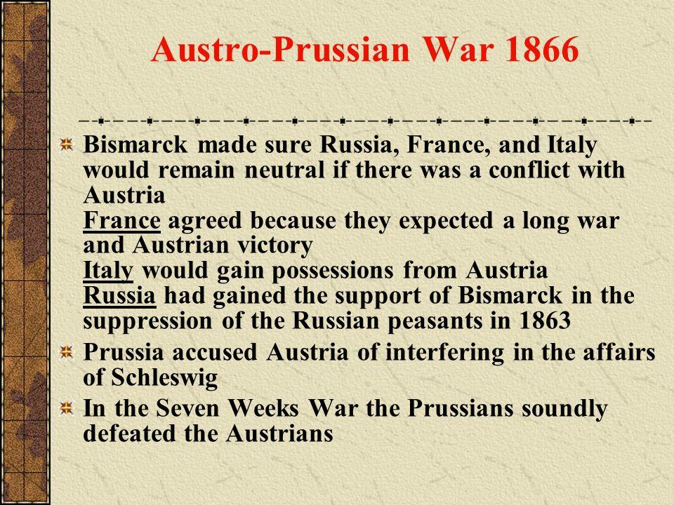 Austro-Prussian War 1866