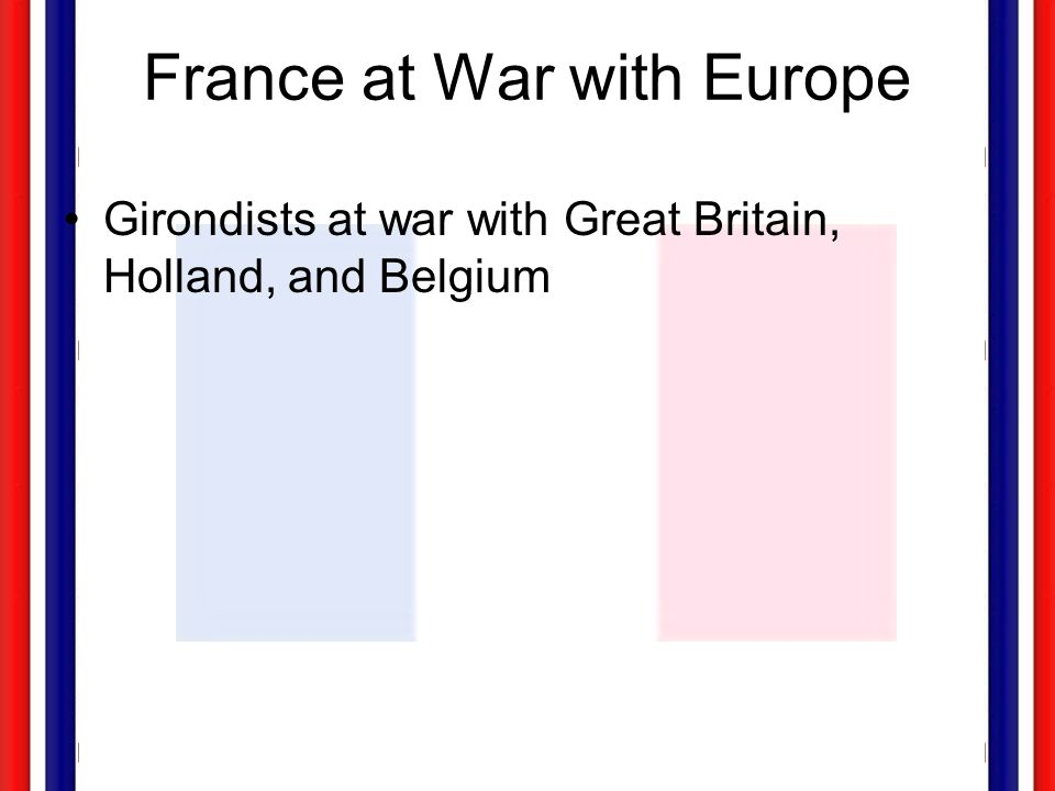 France at War with Europe