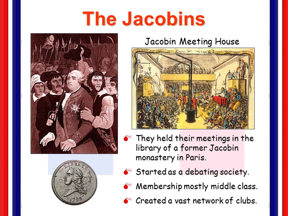 The Jacobins Jacobin Meeting House