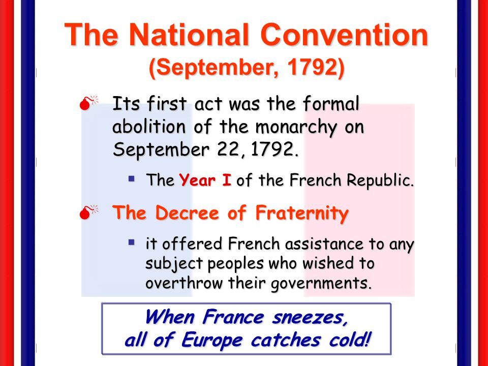 The National Convention (September, 1792)