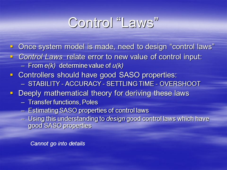 """brief review of control theory ppt video online  16 control """""""