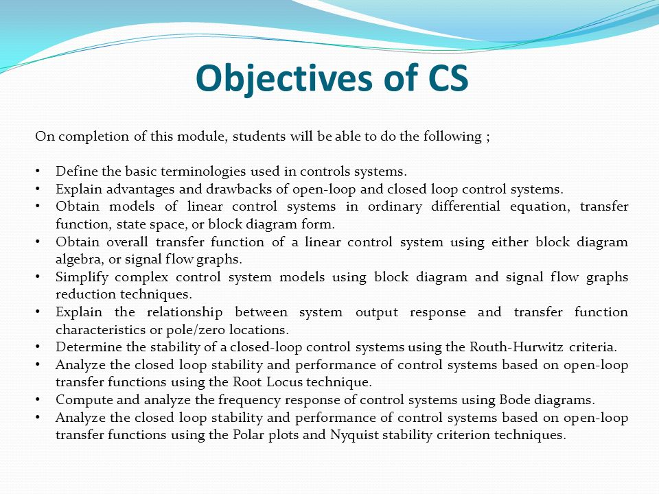 Lecture 1 introduction ppt video online download 9 objectives ccuart Choice Image