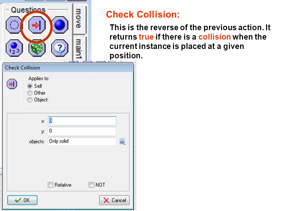 Check Collision: