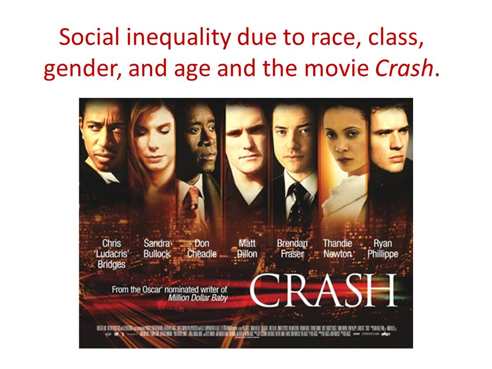 examples of racism in crash