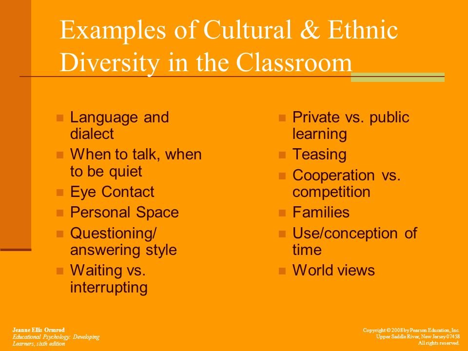 the importance of diversity in the classroom Benefits and challenges of diversity in academic settings benefits and challenges of diversity  employed active learning in the classroom,.