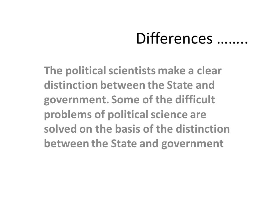 distinction between nation and state The history of the public/private distinction  with the emergence of the nation-state and theories  the sharp distinction between public and private began to.
