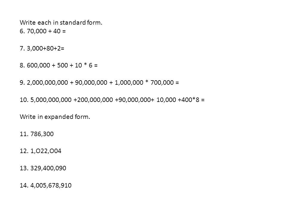 Whole Numbers. - ppt download