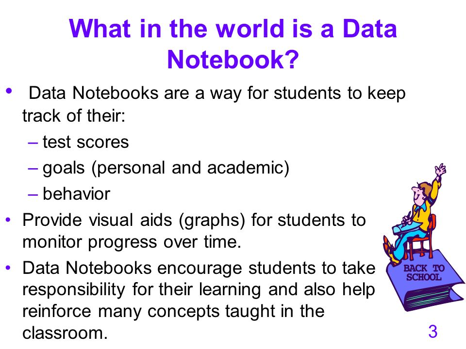 What in the world is a Data Notebook