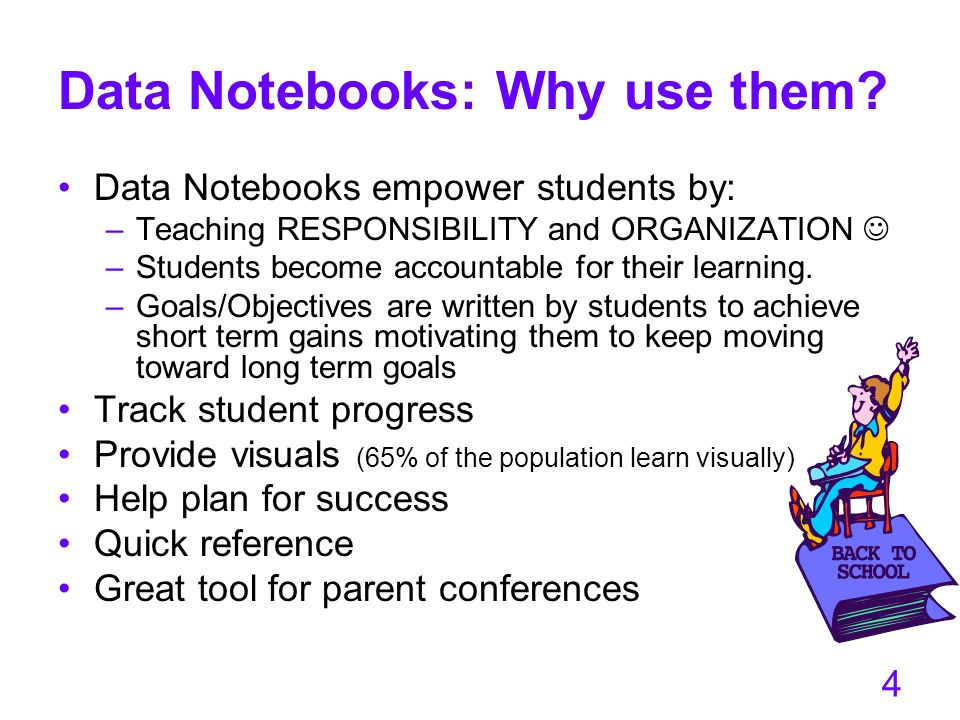 Data Notebooks: Why use them