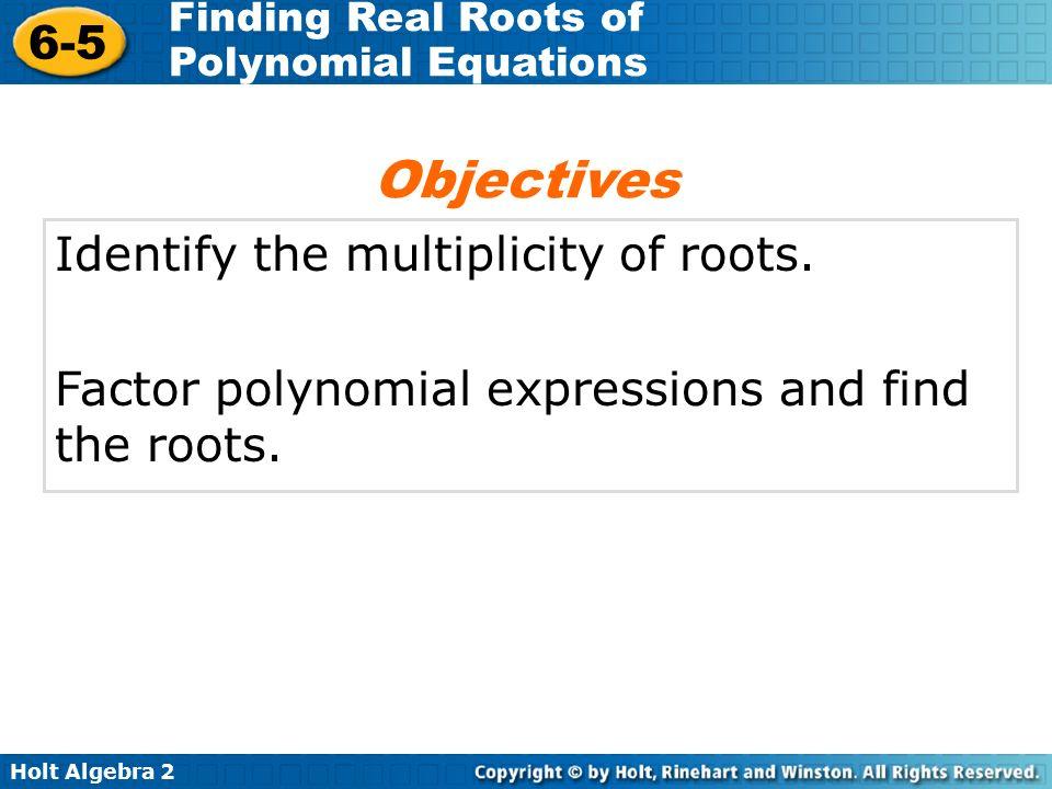 Multiplicity of roots - cvutcz
