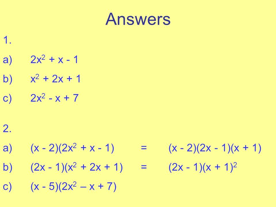 Additional Mathematics for the OCR syllabus - Algebra 8 ...