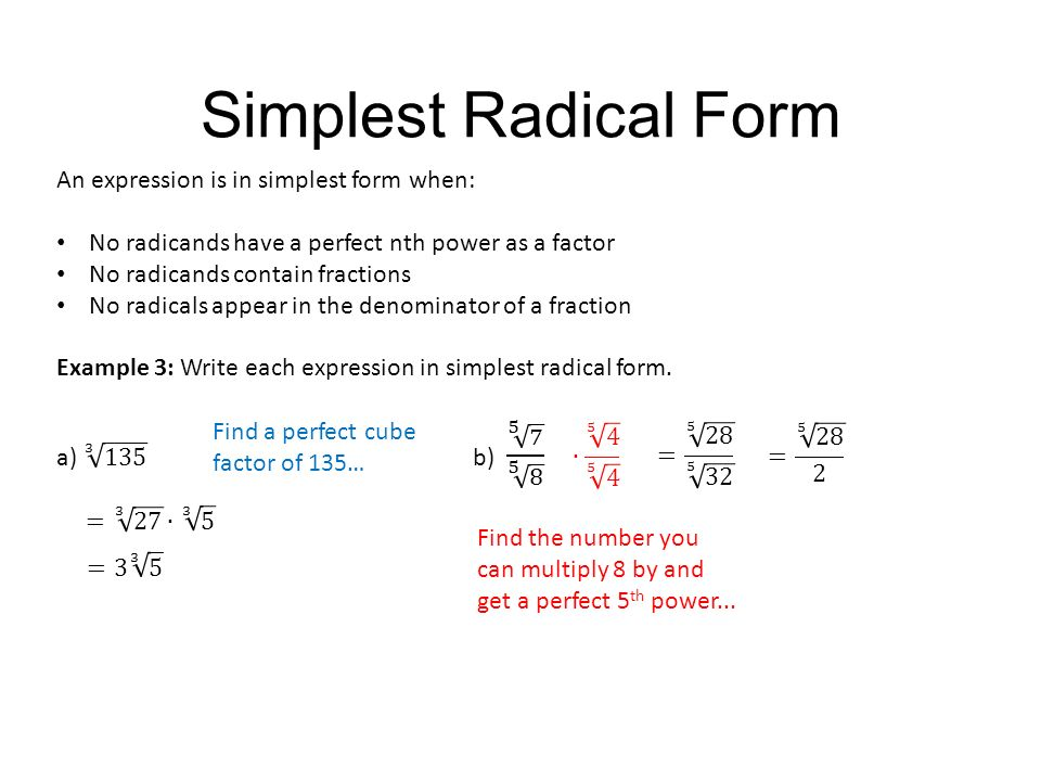 Properties of Rational Exponents and Radicals - ppt video online ...