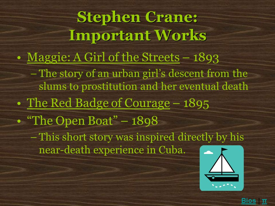 Stephen Crane: Important Works