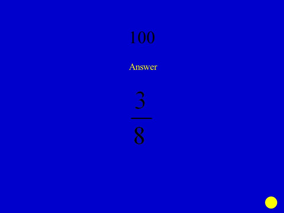 Rational Numbers Jeopardy - ppt download