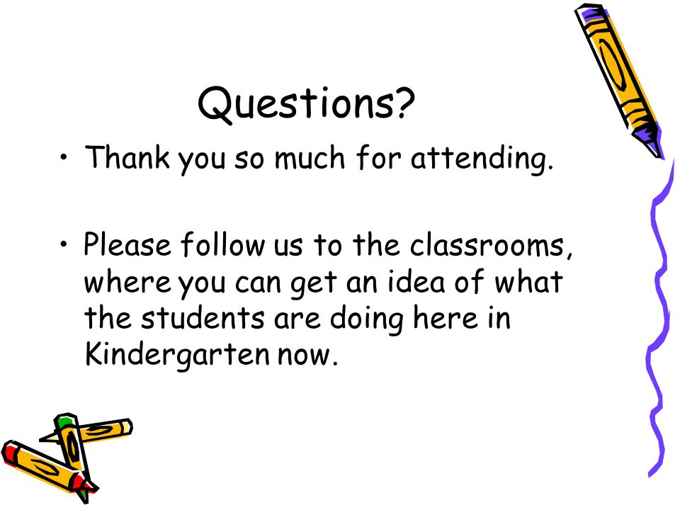 Questions Thank you so much for attending.