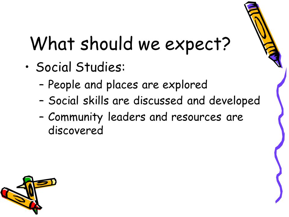 What should we expect Social Studies: People and places are explored
