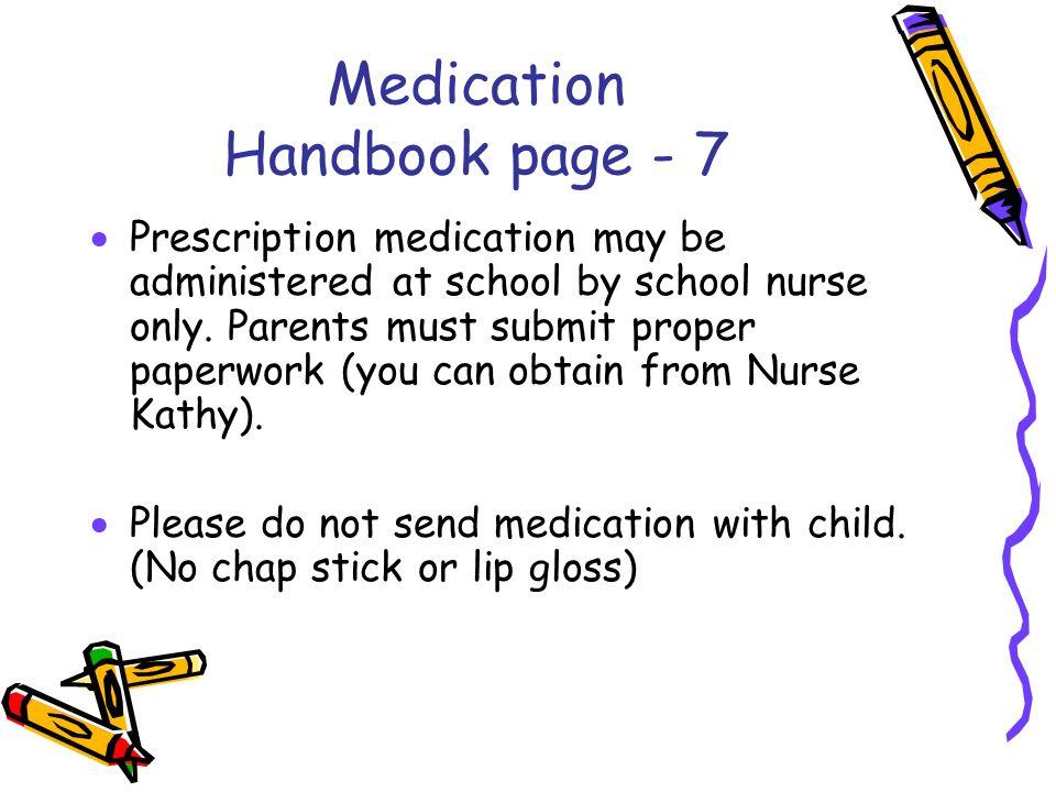 Medication Handbook page - 7