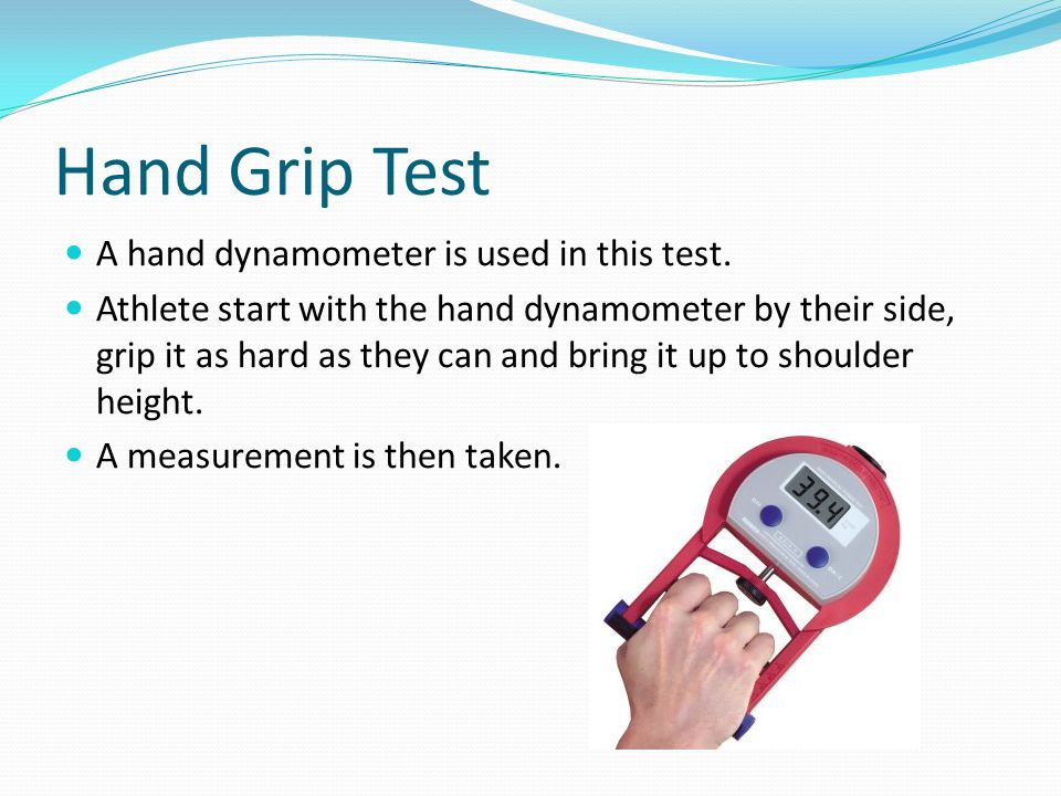 Hand Dynamometer Test : Year gcse pe components of fitness ppt download