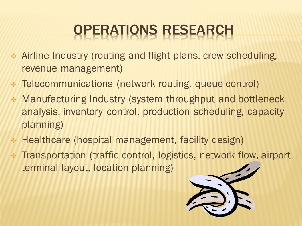 Introduction To Operations Research Ppt Video Online Download