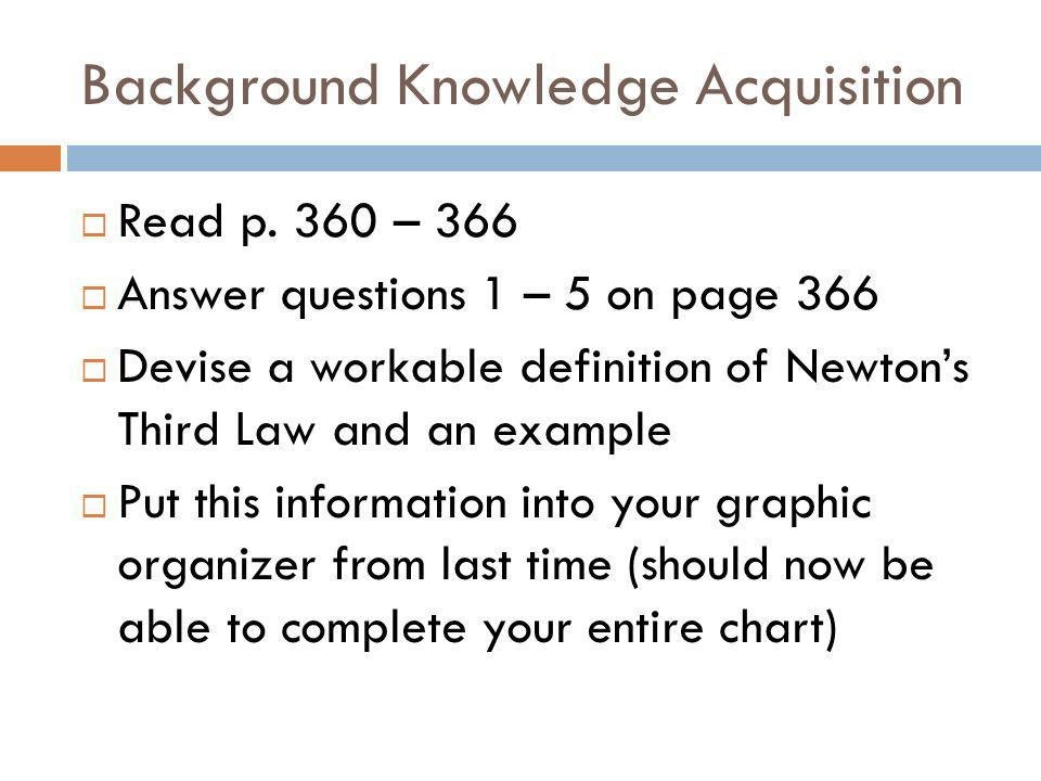 Background Knowledge Acquisition