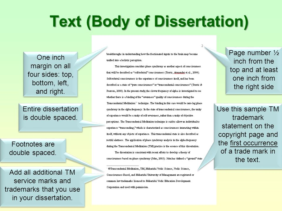 dissertations text This free research database indexes thousands of theses and dissertations accepted by american universities from 1902 to the present and provides links to full text.