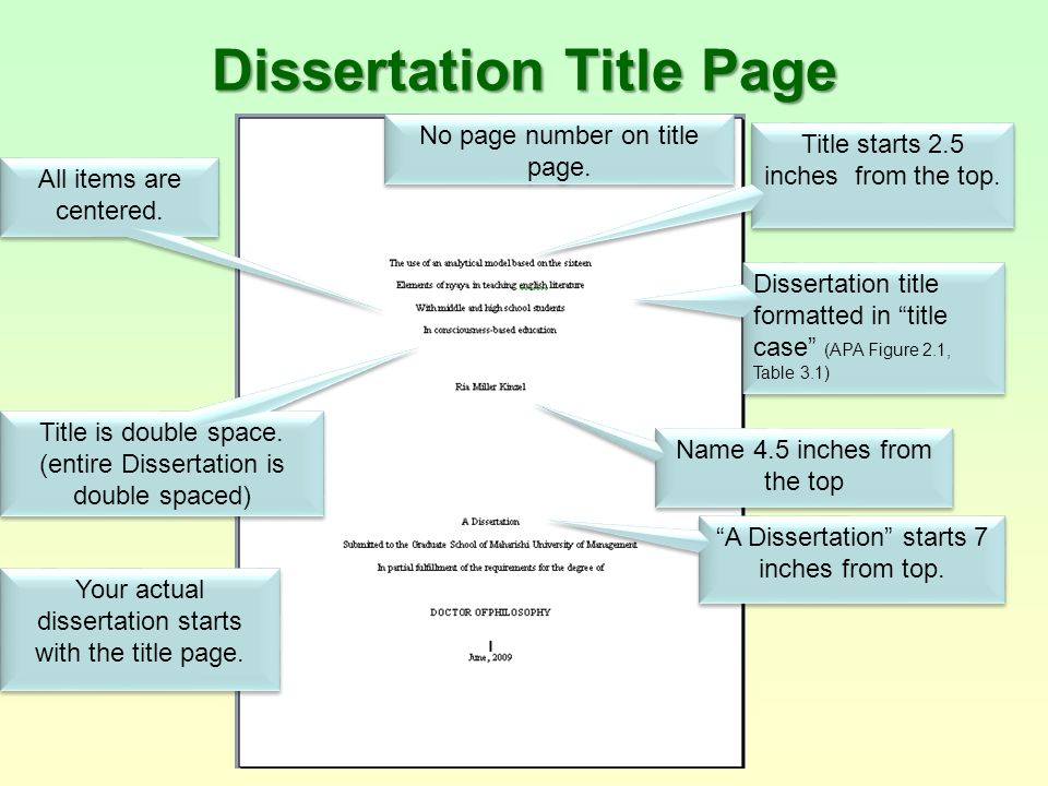dissertation discussion headings How to write a dissertation  of the dissertation the logic of the discussion should build point on point towards a final conclusion use headings and sub.