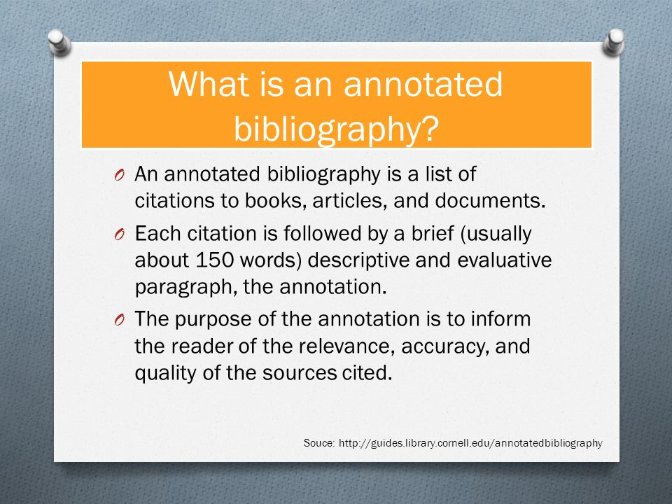 Image titled Write an Annotated Bibliography Step   Template net