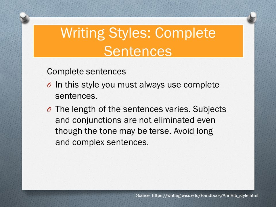 Complete and Incomplete Sentences - PowerPoint PPT Presentation