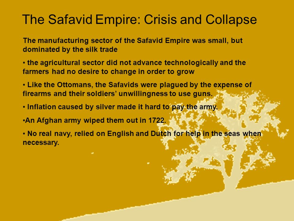 The Safavid Empire: Crisis and Collapse