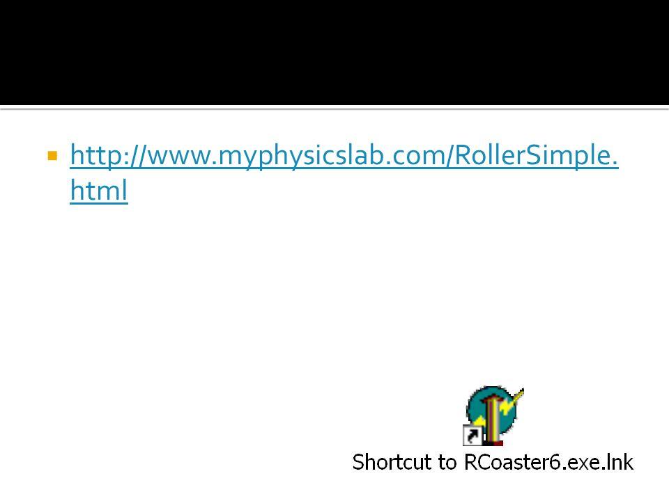 http://www.myphysicslab.com/RollerSimple.html