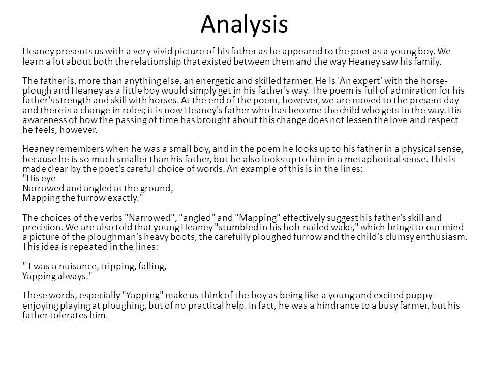An analysis of a small elegy