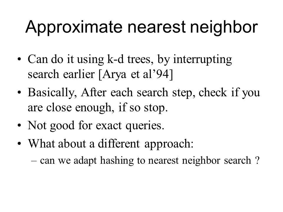 Approximate Nearest Neighbor Search by Residual Vector ...