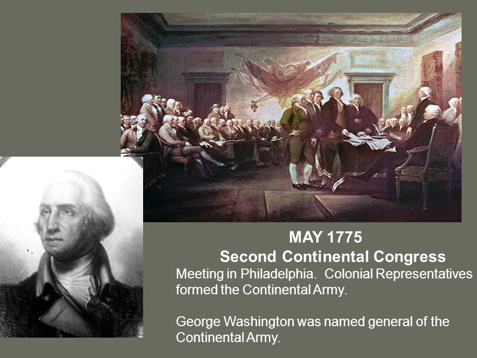 the first continental congress meeting How can the answer be improved.