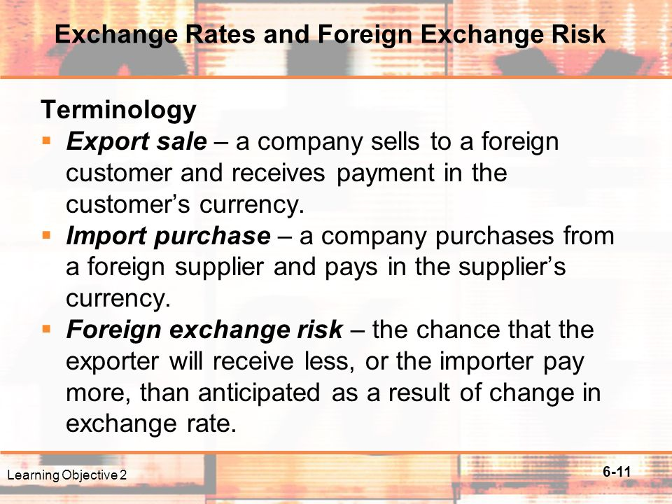 Five steps to managing your foreign exchange risk