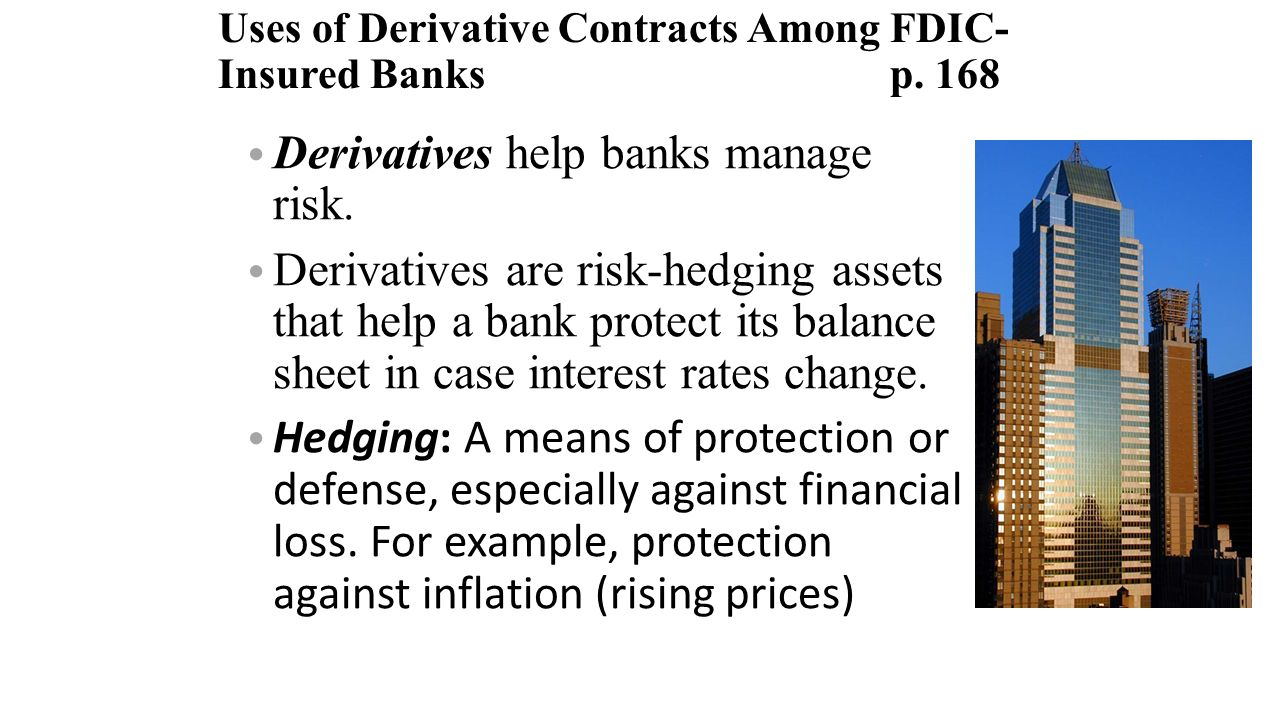 use derivatives risk management essay Risk management and hedging in derivatives market risk management can be undertaken in several different manners, which often depends on the structure and initiatives for the specific firm.