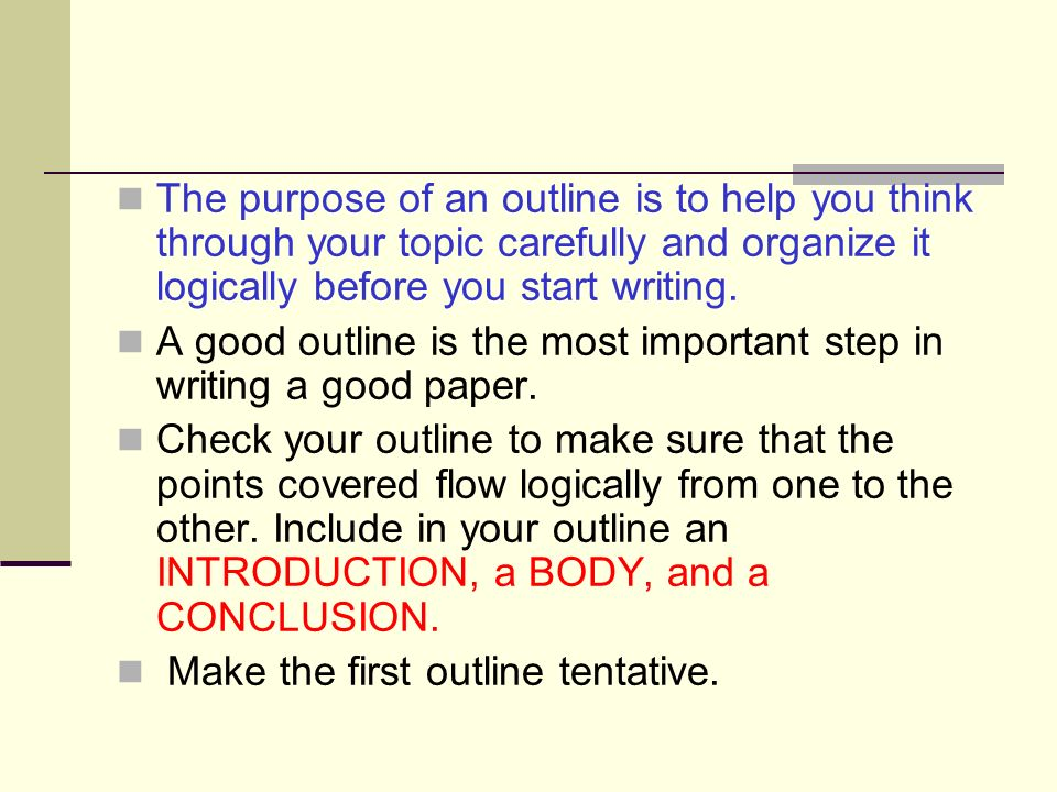 How To Write A Good Introduction To A Research Paper