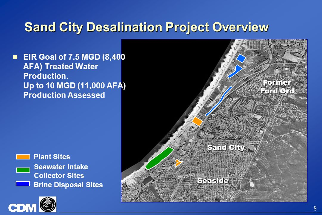 Sand City Desalination Project Overview