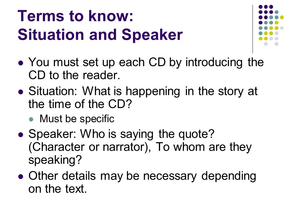 """the situation of the speaker in Register (discourse) from glottopedia  type of language selected as appropriate to different types of situation""""  activity of the speaker or."""