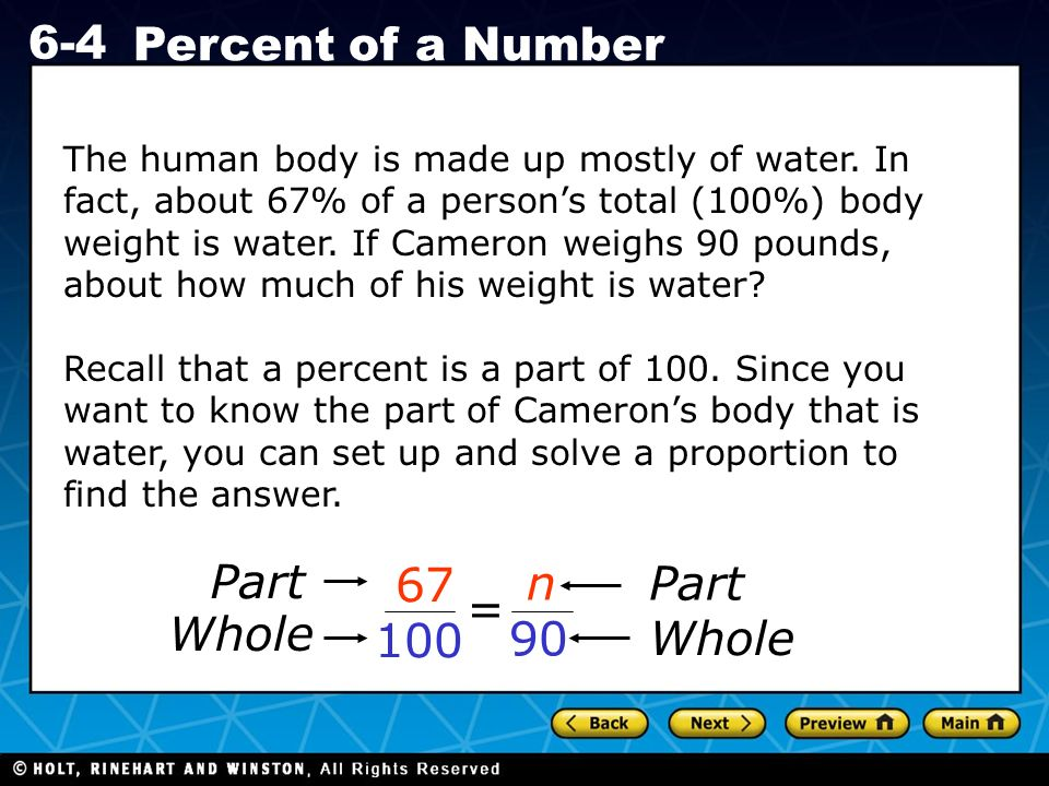 The human body is made up mostly of water