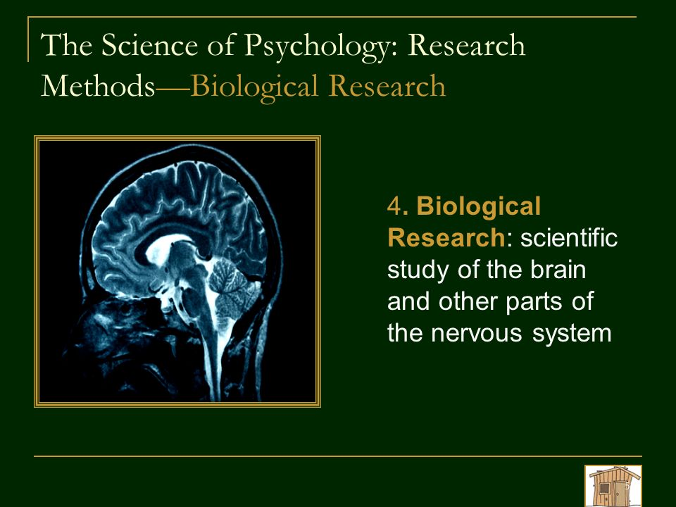 Biological psychology research methods