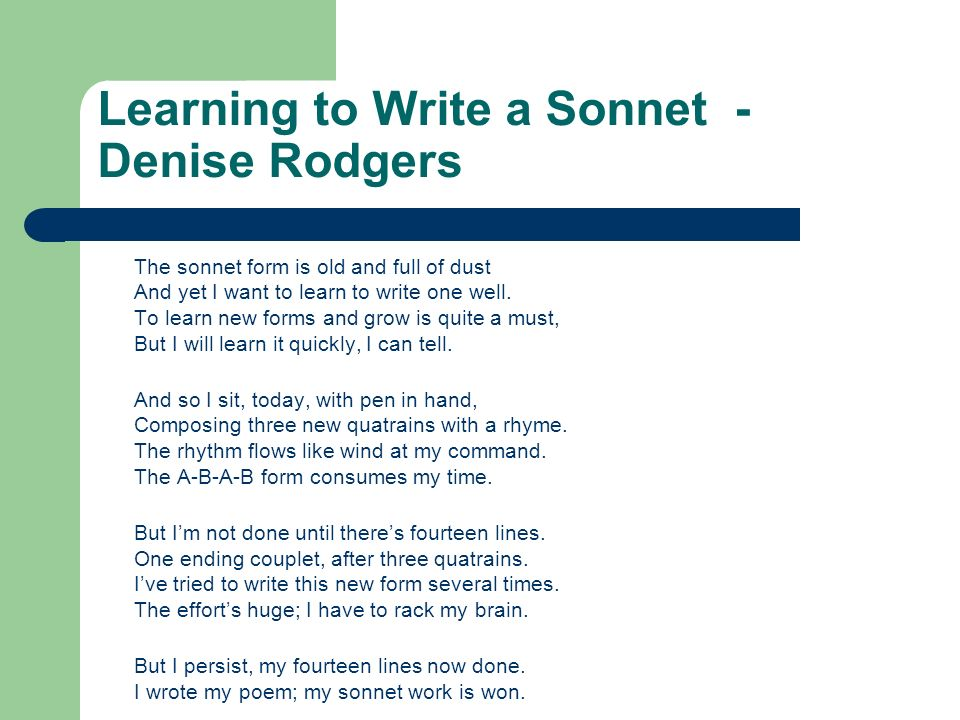 an introduction to the analysis of the sonnet by barrett A summary of sonnet 130 in william shakespeare's shakespeare's sonnets learn exactly what happened in this chapter, scene, or section of shakespeare's sonnets and what it means.