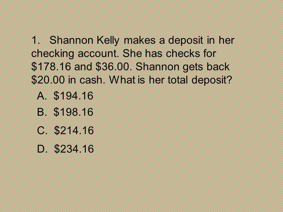 D. $234.16 C. $214.16. B. $198.16. A. $194.16.